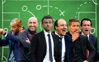 Entrenadores con mas descenso 2010/2018