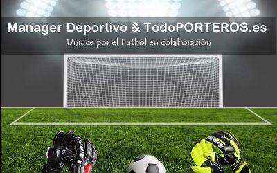 Manager Deportivo-TodoPORTEROS.es y Rynat, unidos por el fútbol