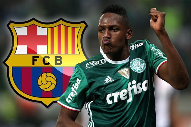 OFICIAL: Yerry Mina, segundo fichaje del Barça