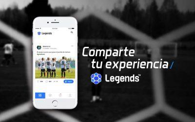 Legends y Manager Deportivo se unen en una nueva App dedicada al Futbol