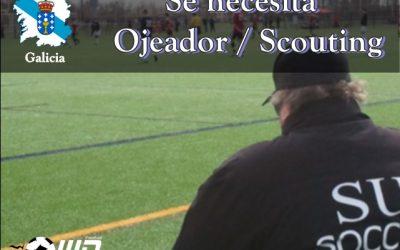 MD Oferta Puesto de Ojeador/Scouting Galicia