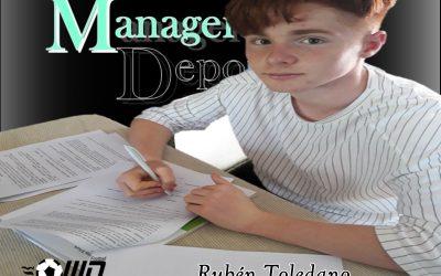 MD da la Bienvenida a un Nuevo Jugador Rubén Toledano