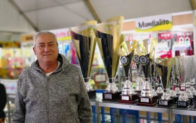 El Ojeador Manuel Garcia de Manager Deportivo en El Mundialito de la Costa Daurada