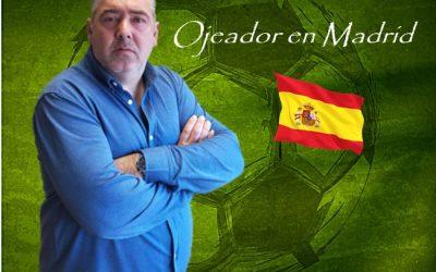 Juan Antonio Florenzano Nuevo Ojeador/Scout en Madrid de MD.