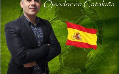 Jorge Rico Jordán Nuevo Scout en Cataluña de Manager Deportivo.