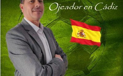 José Villalustre Nuevo Ojeador en Cádiz de Manager Deportivo.