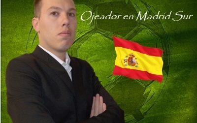 Manager Deportivo completa la Comunidad de Madrid con el Ojeador Victor Polo.
