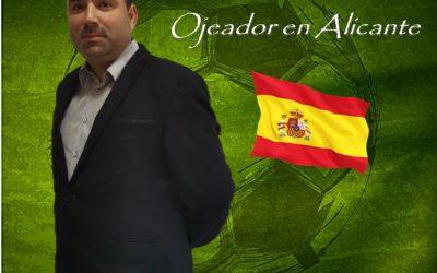 Javier Coves Nuevo Ojeador en Alicante de Manager Deportivo.