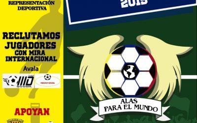 Manager Deportivo & Psicofut España Torneo Alas para el Mundo Colombia 2019.