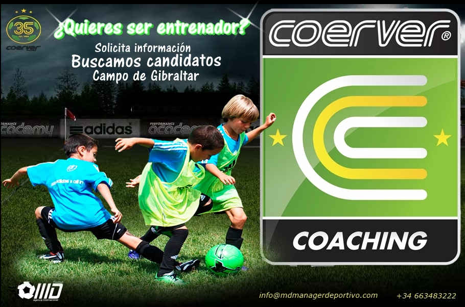 Manager Deportivo busca candidat@s para Coerver