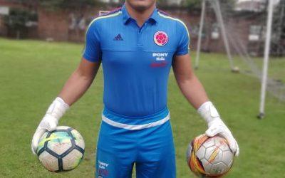 El Portero Preselección U21 Colombiano Luis Miguel Sierra con MD.