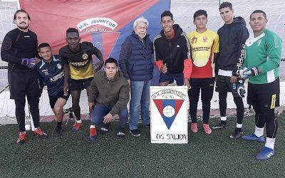 Manolo Moscoso,  U.D. Juventud, una vida para el Fútbol.