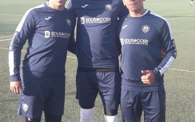 Pruebas en Leganés de jugadores Manager Deportivo